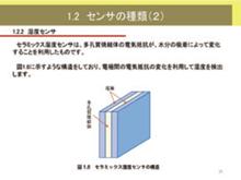 電気電子シリーズ センサ技術コース