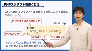 PHPプログラミング講座【初級】